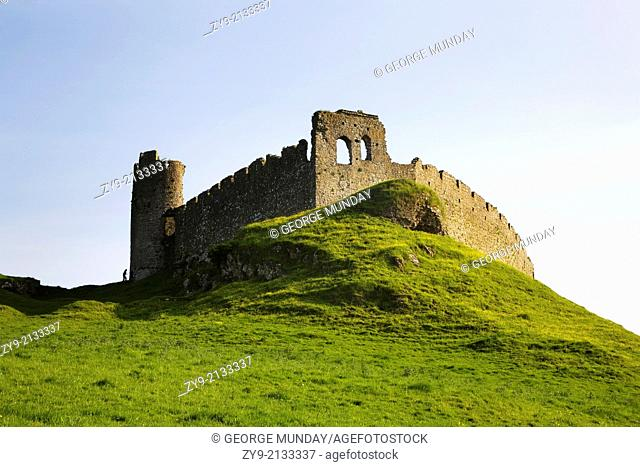The Ruined Roche Castle, County Louth, Ireland