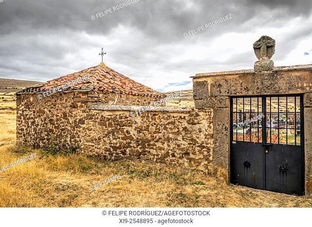 Cemetery of Gallinero, Almarza, Soria, Spain