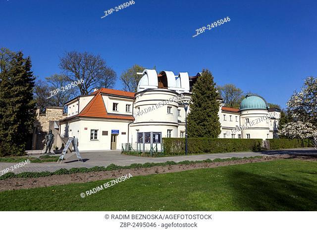 Stefanik Observatory on Petrin Hill, Prague Czech Republic