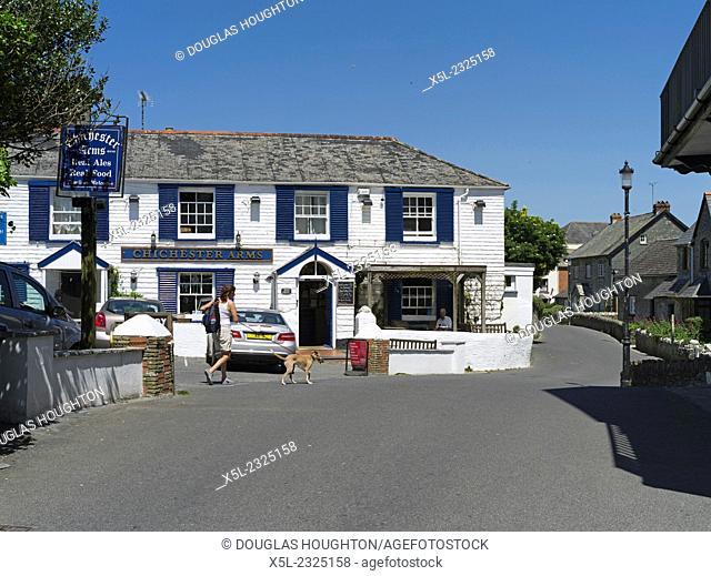 Chichester Arms MORTEHOE DEVON Traditional North Devonshire