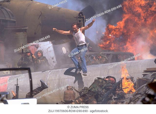 Jun 06, 1997; Los Angeles, CA, USA; Jun 06, 1997; Los Angeles, CA, USA;Actor NICHOLAS CAGE stars as Cameron Poe in 'Con Air