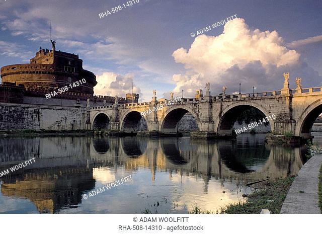 Castel St. Angelo, Rome, Lazio, Italy, Europe