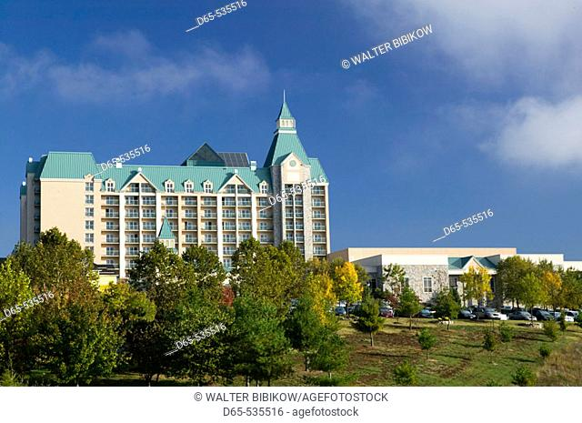 Country Music Mecca of the Midwest. Chateau on the Lake Hotel. Branson. Missouri. USA