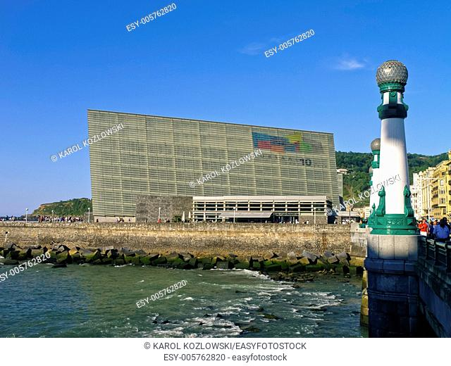 Kursaal Auditorium in Donostia - San Sebastian, Basque Country, Spain