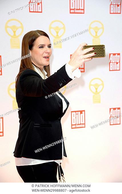 Das Goldene Lenkrad 2016 award at Axel Springer Haus in Mitte Featuring: Katarina Witt Where: Berlin, Germany When: 08 Nov 2016 Credit: Patrick Hoffmann/WENN