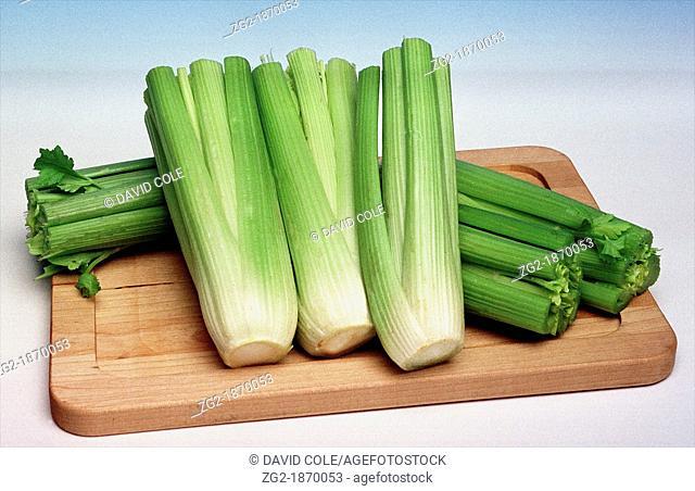 Organic salad vegetables - Healthy eating celery