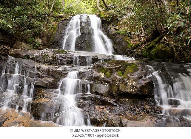 Great Smoky Mountains National Park, Tennessee - Laurel Falls