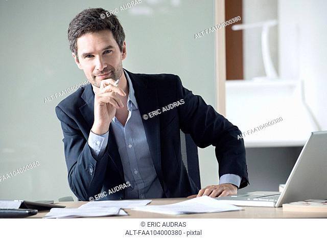 Lawyer, portrait