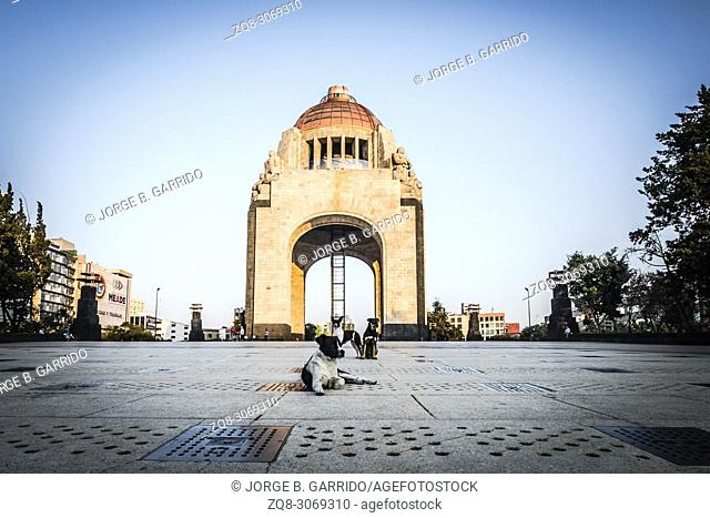 Revolution Monument at CDMX, Mexico City