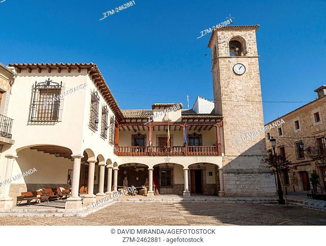 Mota del Cuervo. Ayuntamiento. Cuenca. Castilla la Mancha. España