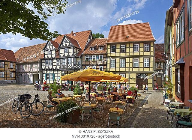 Klopstock Museum at Schlossberg, Quedlinburg, Saxony-Anhalt, Germany