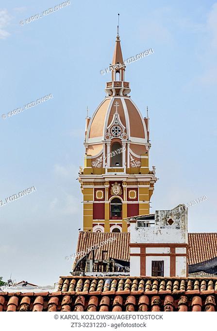 Metropolitan Cathedral Basilica of Saint Catherine of Alexandria, Cartagena, Bolivar Department, Colombia