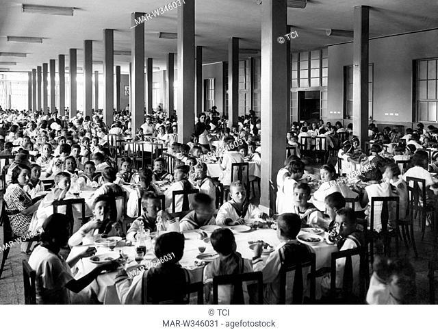 refectory, villa Rosa Maltoni Mussolini, calambrone 1930-40