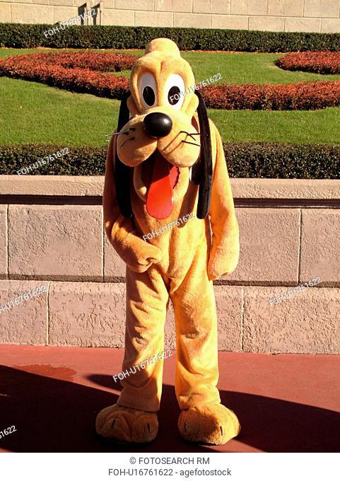 Orlando, FL, Florida, Walt Disney World Resort, Magic Kingdom Park, Pluto (Editorial Use Only)