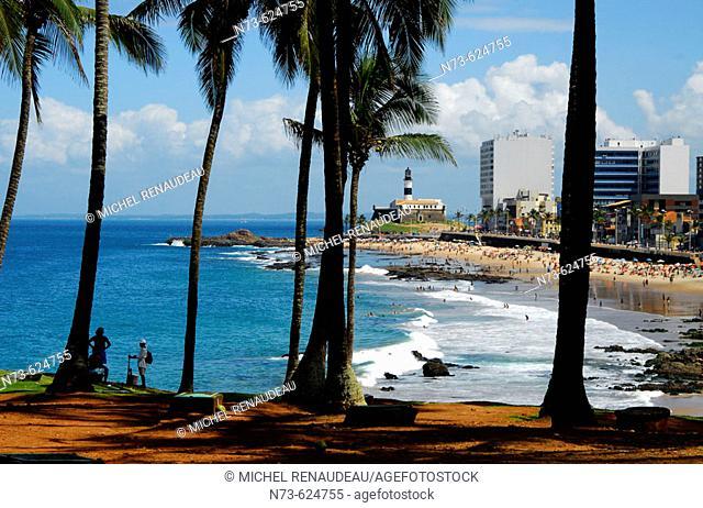 Barra Beach. Salvador da Bahia. Brazil