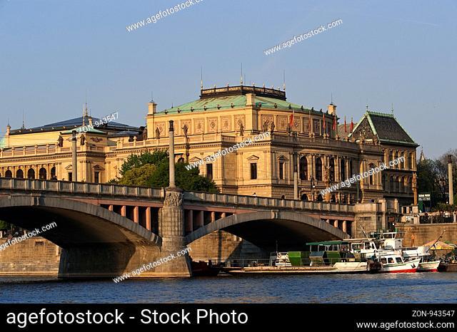Rudolfinum, Prag, Tschechien   Rudolfinum, Prague, Czech Republik