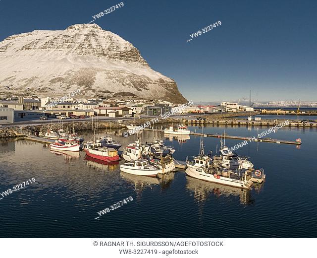 Winter Bolungarvik, West Fjords, Iceland