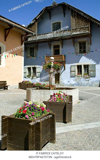 France - PACA - Hautes Alpes - Queyras - Ceillac