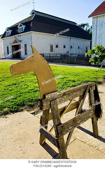 Wooden Horse at Wilder Ranch State Park, Santa Cruz, California