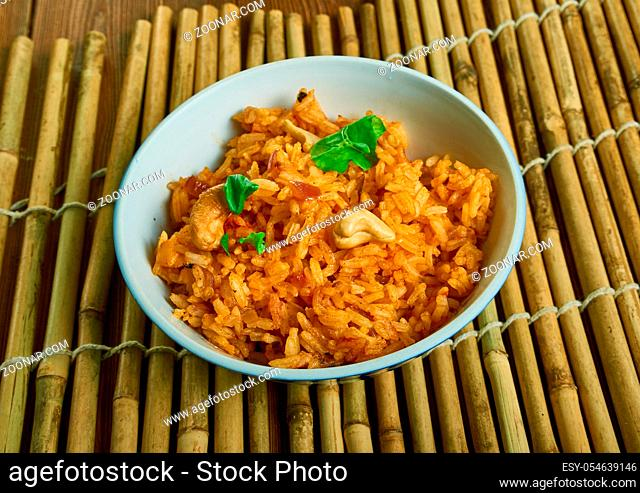 Ukadem Xitt - traditional Goan meal is the Goan par boiled rice with curry