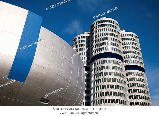 BMW Headquarters in Munich,Germany