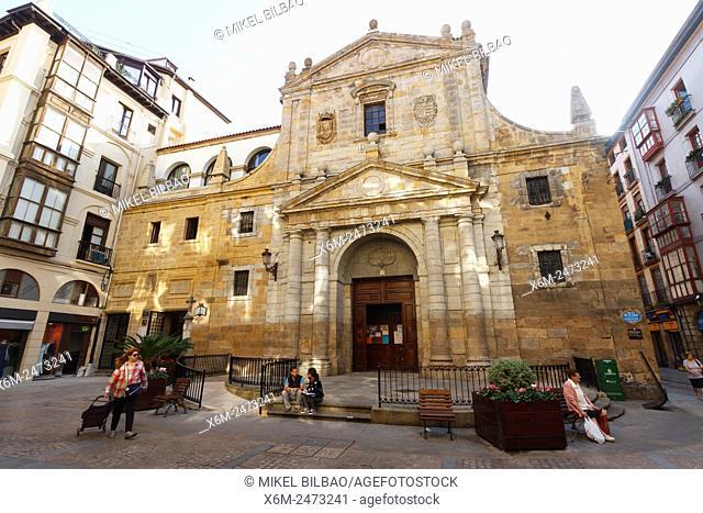 Los Santos Juanes church. Bilbao. Biscay, Spain, Europe
