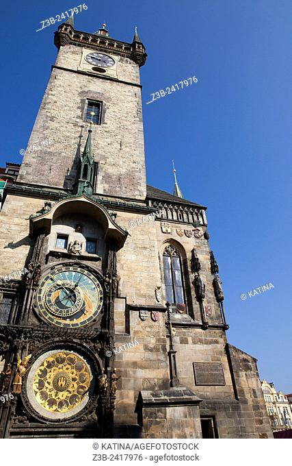 Old Town Hall. The most famous building on the Old Town Square is the fourteenth-century Old Town Hall with its Gothic tower, built in 1364