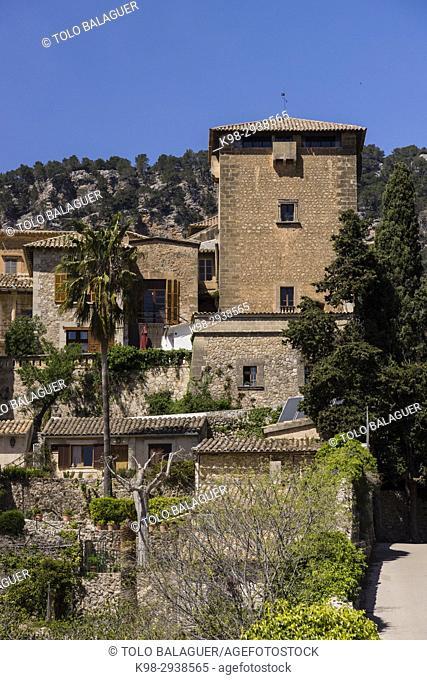 palacio de Sancho I, cartuja de Valldemossa, Mallorca, Balearic Islands, Spain