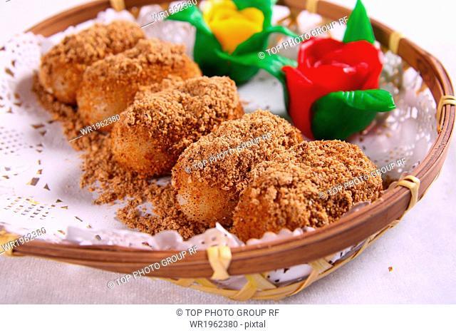 Yuxiang glutinous rice cake