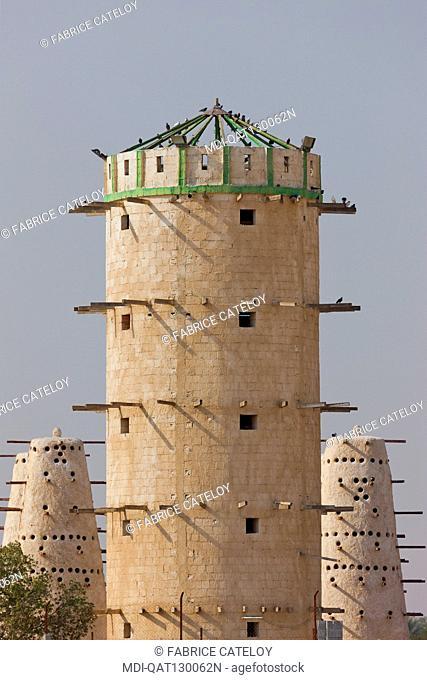 Qatar - On the road between Al Zubara and Al Khor - Dovecotes