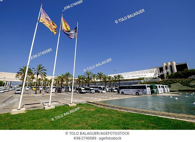 Son Sant Joan International Airport, Palma, Majorca, Balearic Islands, Spain