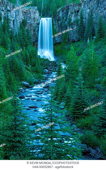 Images from Tumalo Falls outside of Bend