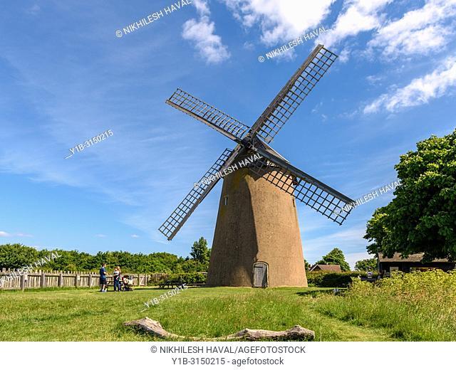 Bembridge Windmill, Isle of Wight, UK