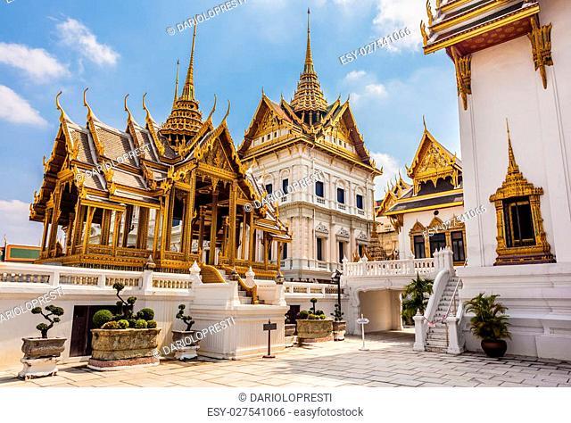 Phra Thinang Dusit Maha Prasat in Royal Palace Bangkok, Thailand