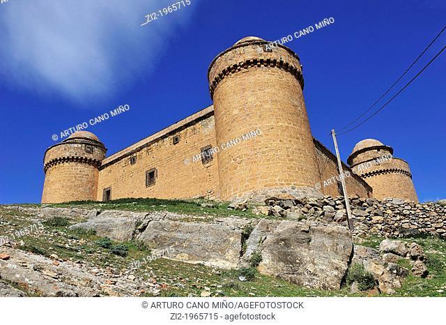 Castle. La Calahorra, Granada, Spain
