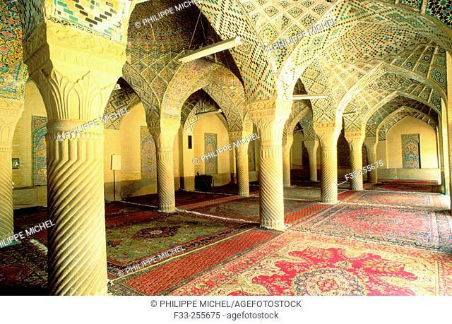 Nasir-ol-Molk mosque. Shiraz. Iran
