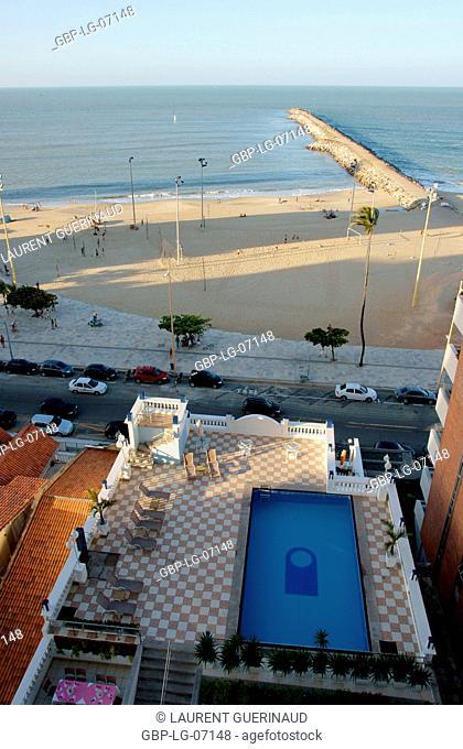 Beach, sea, City, Fortaleza, Ceará, Brazil