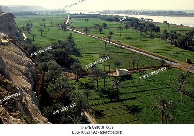Irrigation canal near El Minya