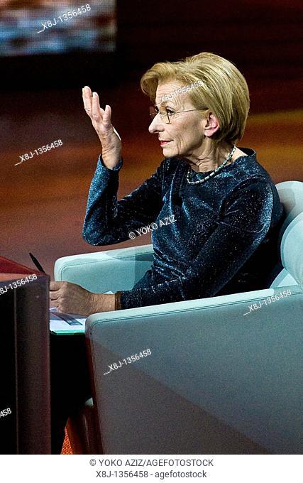 27 02 2011, Milan, 'Che tempo che fa' Telecast RAI3  Emma Bonino