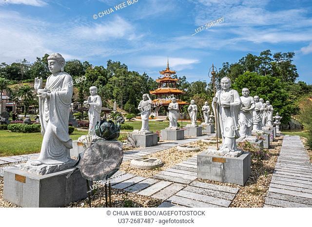 The Buddhist Village, Kuching, Sarawak, Malaysia