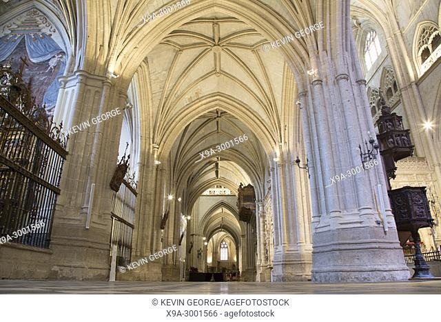 San Antolin Cathedral; Palencia; Spain