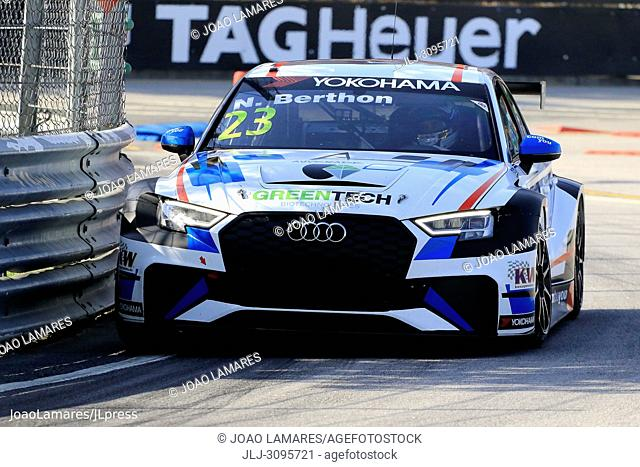 N. Berthon, Audi RS3 LMS #23, WTCR Race of Portugal 2018, Vila Real