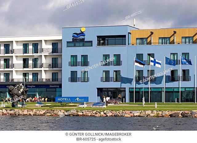 Hotel Meri in Kuressaare, Saaremaa Island, Estonia, Europe