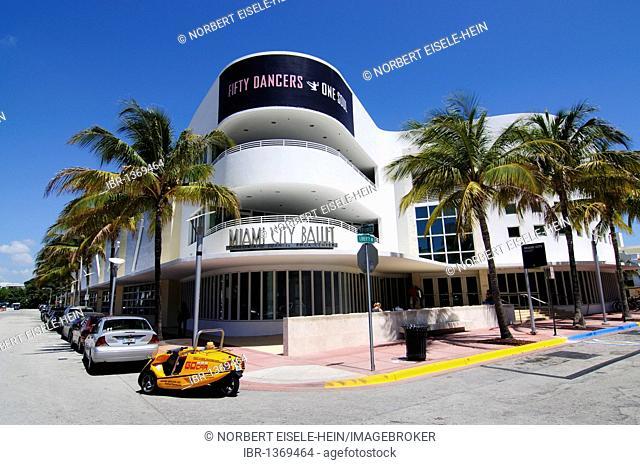 Miami City Ballet, South Beach, Art Deco district, Florida, USA