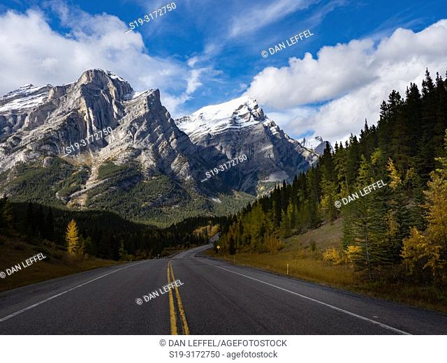 Canadian Rockies. Banff National Park View