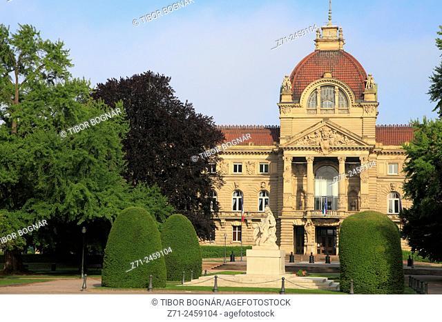 France, Alsace, Strasbourg, Palais du Rhin