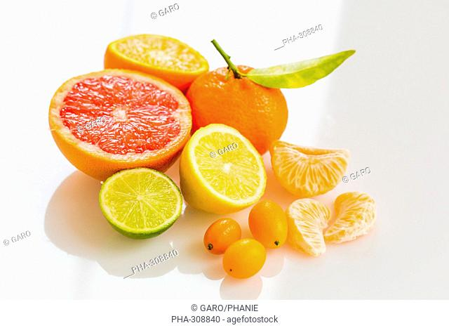 Citrus fruits assorted