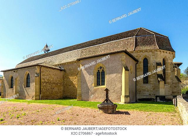 Church of Convent of the Cordeliers. Charlieu. Brionnais. Loire. France
