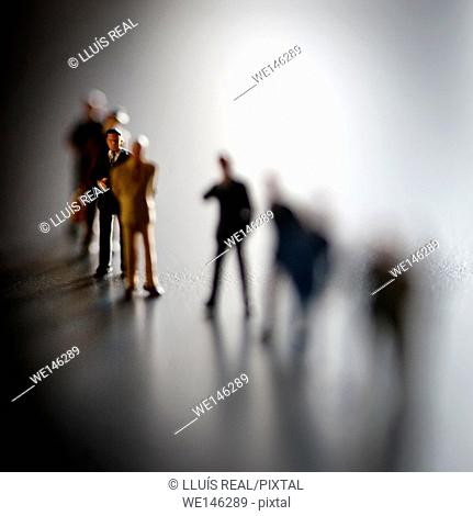 Gente de negocios, toma de decisiones, Business people, decision making,