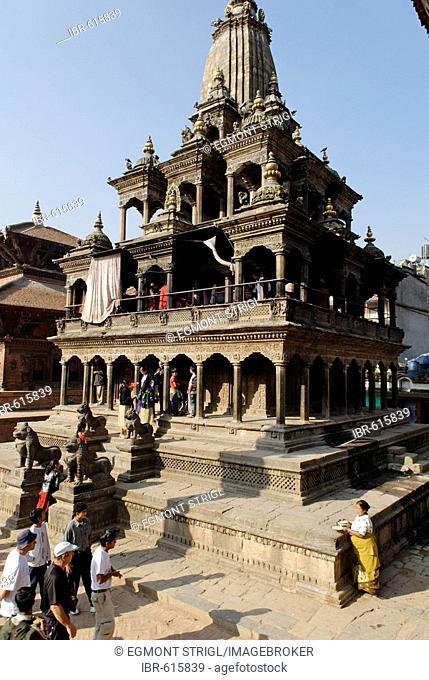 Krishna Mandir Temple, Durbar Square of Patan, Lalitpur, Kathmandu, Nepal
